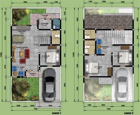 denah  harga rumah type  terbaru