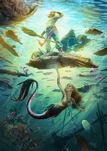 A Mermaid U0026 39 S Tale By Onemannbrand Deviantart Com On