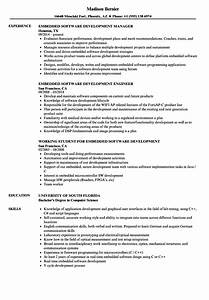 embedded software development resume samples velvet jobs With embedded linux developer resume