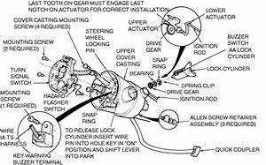 How Do I Replace The Ignition Actuator On A 1988 Ford F150 W  Tilt  Is There A Schematic