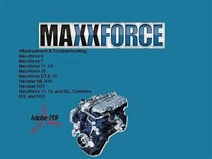 Maxxforce  Maxxforce Service Repair Manual Diesel Engines