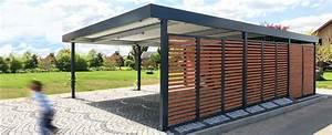 Carport Holz Modern : doppelcarports carceffo moderne carports garagen ~ Markanthonyermac.com Haus und Dekorationen