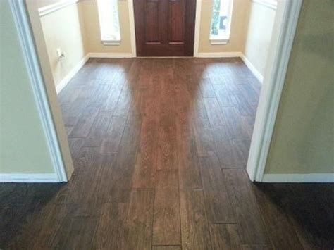 home depot marazzi wood look tile marazzi montagna saddle 6 in x 24 in glazed porcelain