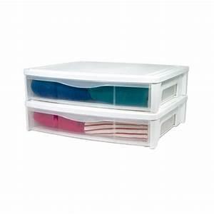 Rangement Sous Le Lit : boite de rangement boites sous le lit ~ Farleysfitness.com Idées de Décoration