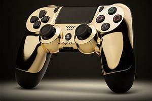 PS4 Xbox One Get Limited Edition Gold Controllers