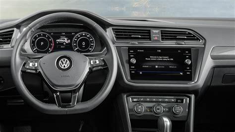 volkswagen tiguan 2018 interior 2018 volkswagen tiguan 7 seater interior youtube