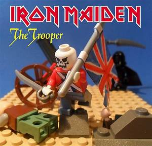 Iron Maiden - The Trooper | Original cover: www ...