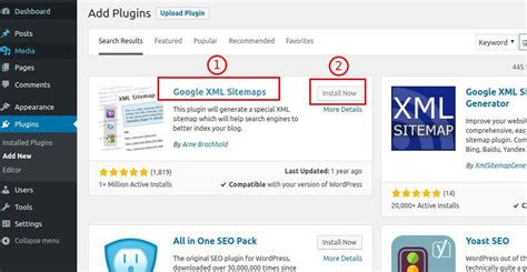 Add Sitemap Your Site