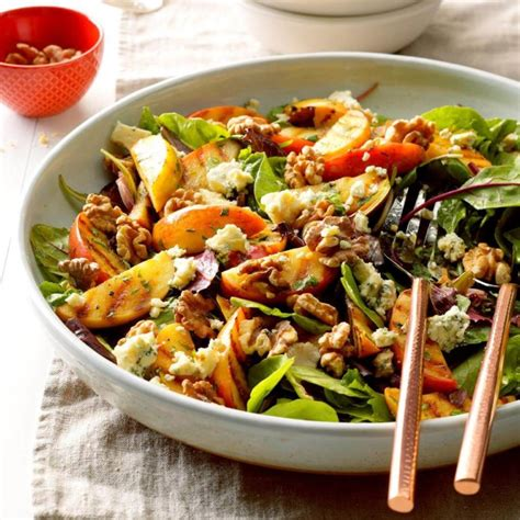 grilled apple tossed salad recipe taste  home