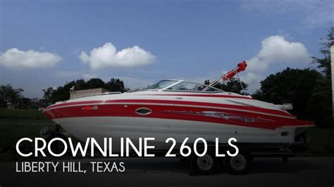 Crownline Boats Texas by Used Crownline Boats For Sale In Texas United States