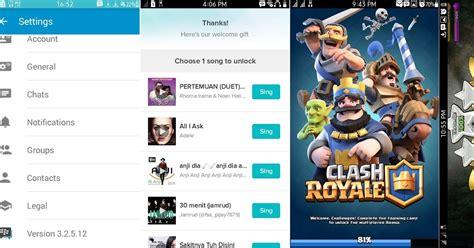 cara menjalankan aplikasi android bbm clash of clans
