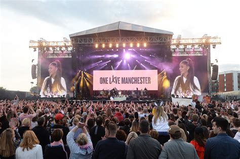 love manchester tears  happiness overshadow fear