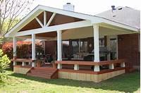 covered porch ideas Small patio decks, deck with covered porch design ideas covered deck with porch design ideas ...