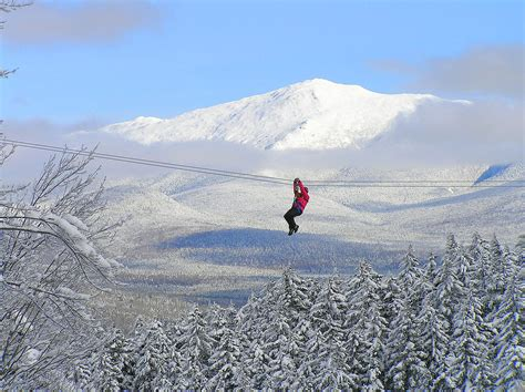 bretton woods zip  canopy  white mountains