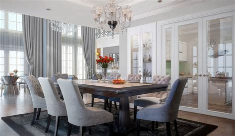 tuananh ekes classically styled formal dining