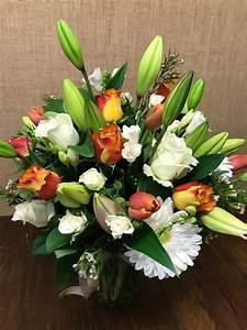 Bright, Flower, Box, Arrangement