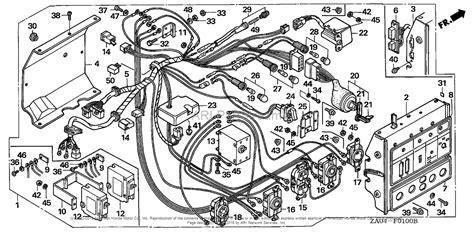 honda es6500 a generator jpn vin gx360 1000001 to gx360 1017635 parts diagram for box 1