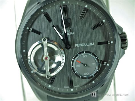 Tag Heuer Grand Carrera Pendulum- First Look