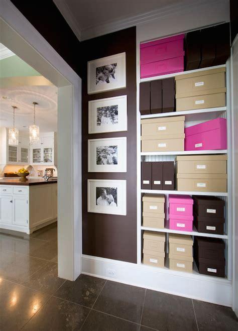 Dark Brown Wall Color Design Ideas