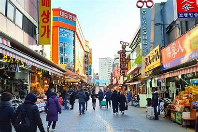 Namdaemun Market Seoul Mercado Seul Skygarden Seoullo