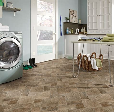 vinyl flooring for laundry room laundry room love diablo 998 timeless traditions sheet vinyl tile flooring ivc us floors