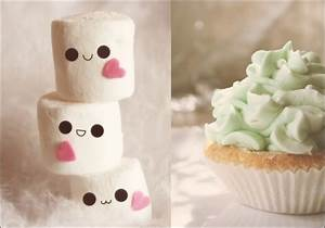 There is just something about marshmallows with faces ...