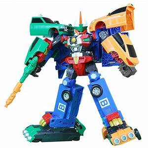 HELLO CARBOT Road Saver Dual Transforming System Robot