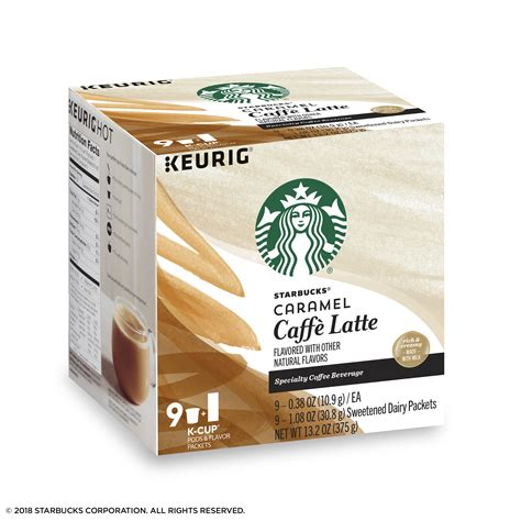 Disclaimer actual product packaging and materials may contain additional and/or different ingredient, nutritional, or proper usage information than the information displayed on our. Starbucks Caramel Coffee Keurig Nutrition | Besto Blog