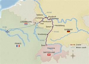Rhine Rhapsody - 2016 Paris to Basel - Cruise Itinerary