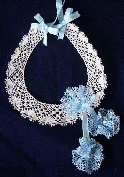 horseshoe wedding torchon bobbin pattern