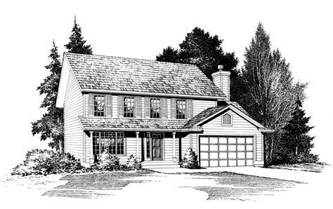 traditional house plan  open floor plan   areas jd architectural designs