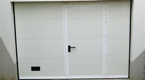 porte de garage sur mesure porte garage sectionnelle doubles rainures