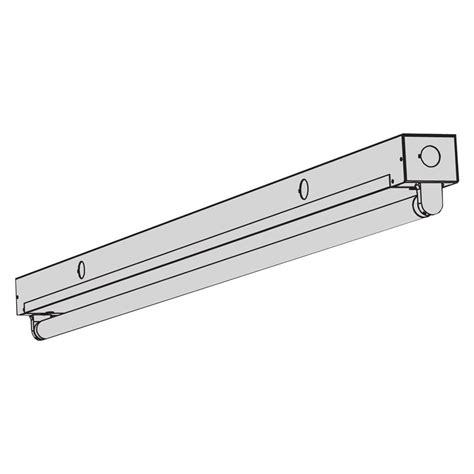 t8 fluorescent t8ms mini fixture aei lighting
