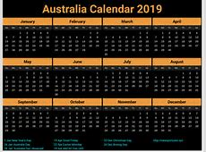 2019 calendar australia 2 2018 Calendar printable for