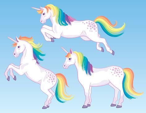 rainbow unicorn cliparts   clip art
