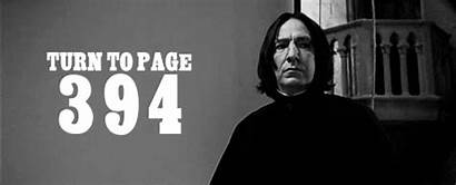 Potter Harry 394 Turn Gifs Snape Quote