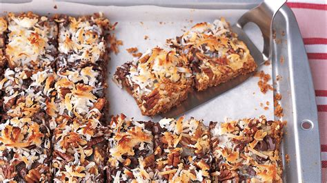 chocolate coconut bars recipe martha stewart