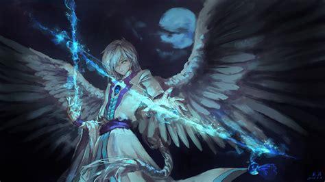 anime angel boy  magical arrow hd anime