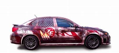 Vehicle Advertising Wraps Wrapping Wrap Zombie Graphics