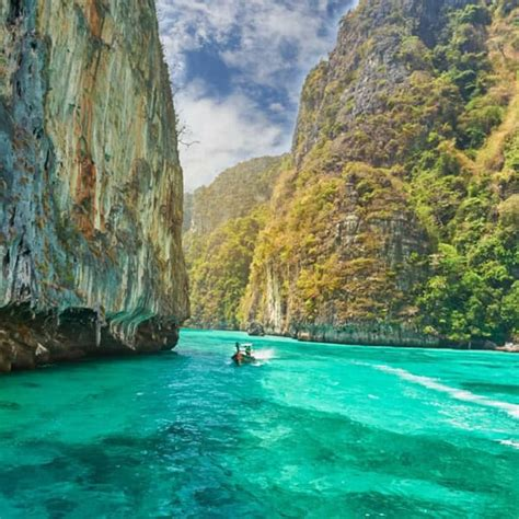 Boat From Phuket To Phi Phi phi phi island luxury tour from phuket by luxury boat