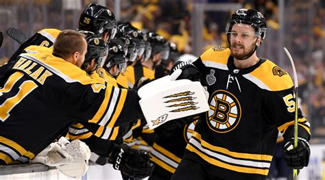 stanley cup final kuraly fourth  lead bruins  game