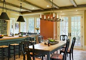 kitchen island farm table farmhouse table kitchen traditional with island brass