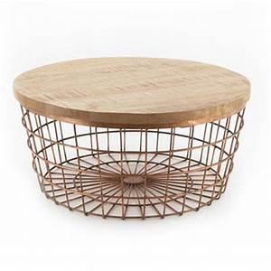 Table Basse Panier : les nouveautes ~ Teatrodelosmanantiales.com Idées de Décoration