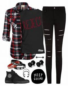 //Reject// | My Style | Pinterest | Polyvore Emo and Clothes