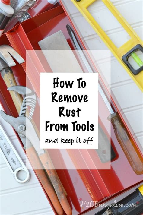 ideas  removing rust  pinterest removing