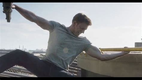 Watch Captain America Take Down a Helicopter With His Huge ...