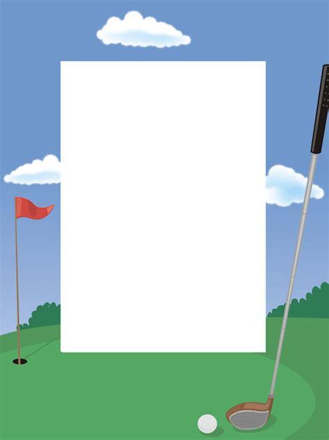 golf border cliparts   clip art