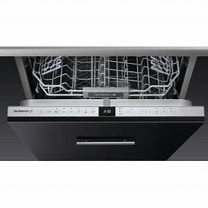 Lave Vaisselle Tout Integrable : lave vaisselle tout integrable 60 cm de dietrich dvh 1342 ~ Nature-et-papiers.com Idées de Décoration