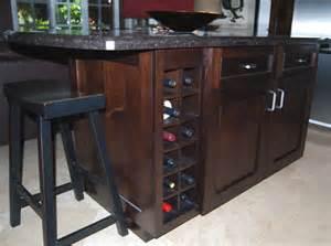 wine rack kitchen island merrill unlimited gallery i