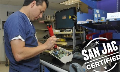 houston biomedical equipment repair program san jacinto